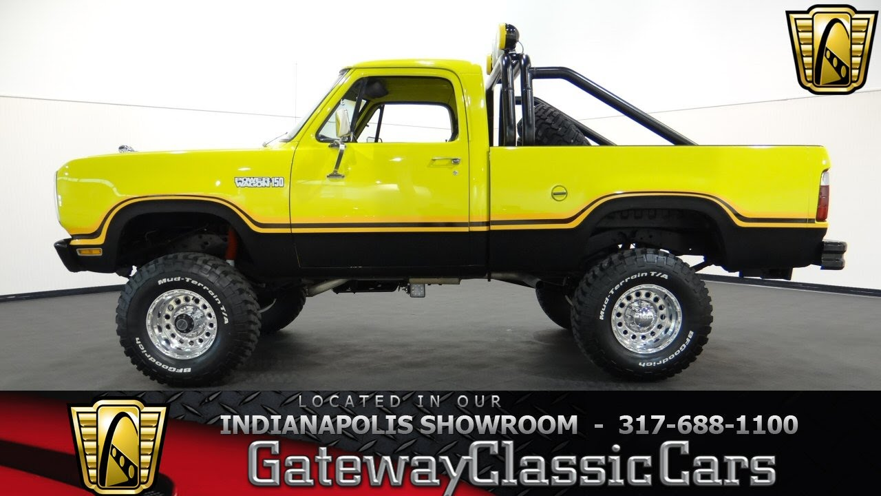 1979 Dodge Power Wagon Gateway Classic Cars Indianapolis 470ndy