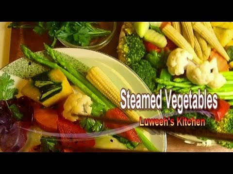 Hypertension Diet ( Steamed Vegetable )