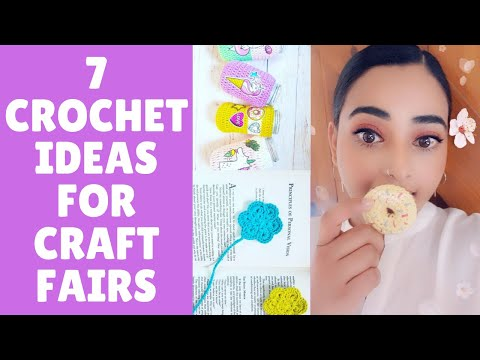 7 CROCHET Craft Fair Ideas and Projects - Let's talk about what I've made for my craft fair