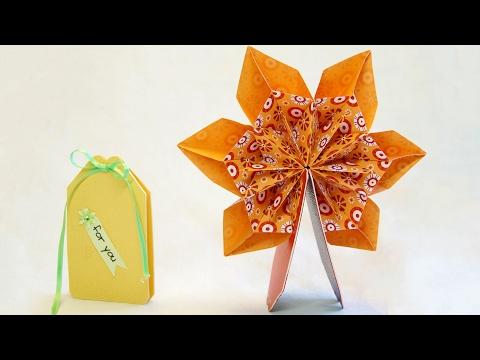 mini-pop-up-karte-360°-mit-origami,-fleurogami-blume...-pop-up-card...