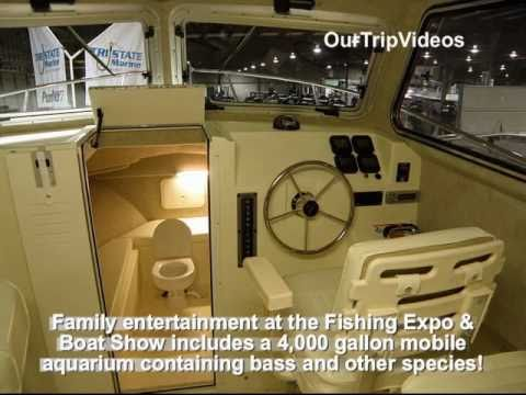 Fishing Expo And Boat Show 2011, MD State Fairgrounds, Timonium, MD, US - Part 1