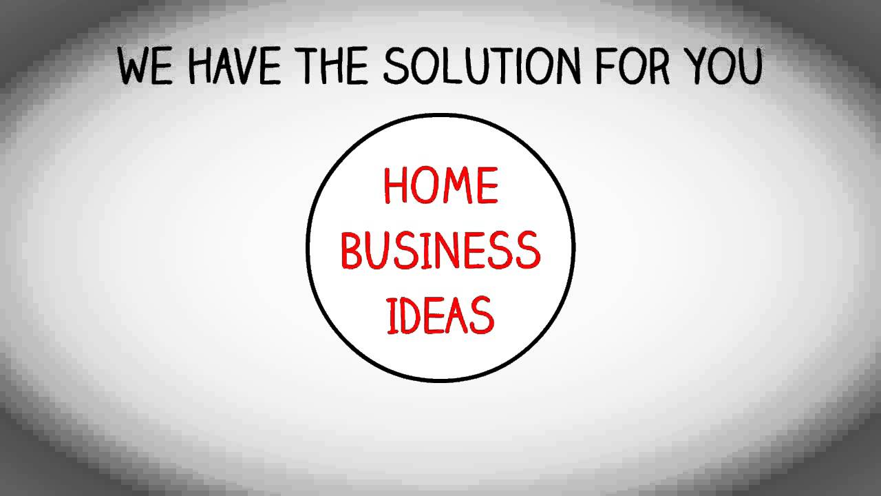 HOME BUSINESS IDEAS | WORKING FROM HOME BIZ - YouTube