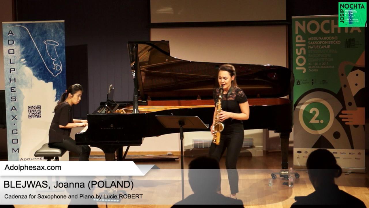 Cadenza (Lucie Robert) – BLEJWAS, Joanna (Poland)