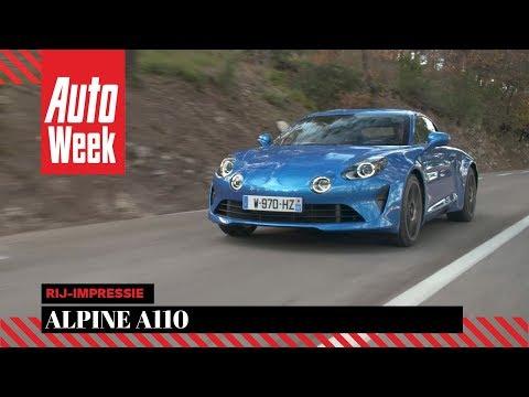 Alpine A110 - Rij-impressie