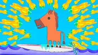 НЕПРОХОДИМЫЙ ВЗРЫВНОЙ УРОВЕНЬ !!! ЧИТЕРНЫЕ ВОЛНЫ ??? ( ULTIMATE CHICKEN HORSE )