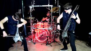 THRASH METAL... ON CELLO... BLINDFOLDED