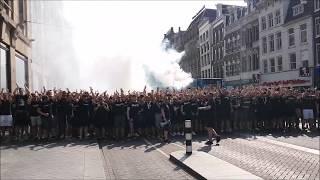 Corteo in Amsterdam - SK Sturm Graz Fans
