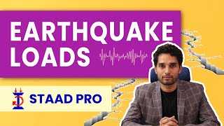 Earthquake Load Calculations With STAAD Pro | Seismic Design For Beginners