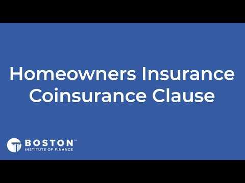 Mini Bite: Homeowners Insurance Coinsurance Clause