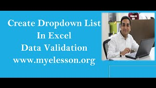 Data Validation With List Feature In Excel Hindi