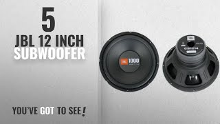 "Top 5 JBL 12 Inch Subwoofer [2018]: 2) JBL CS1214 12"" 2000W Car Subwoofers Power Subs Audio Woofers"