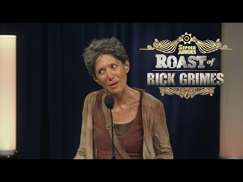 Carol Roasts The Walking Dead! - The Roast of Rick Grimes