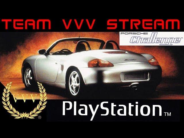 Porsche Challenge PS1 stream