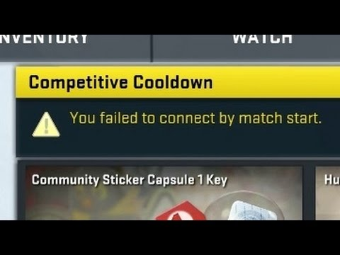 cs go temporary cooldown resolving matchmaking state for your account
