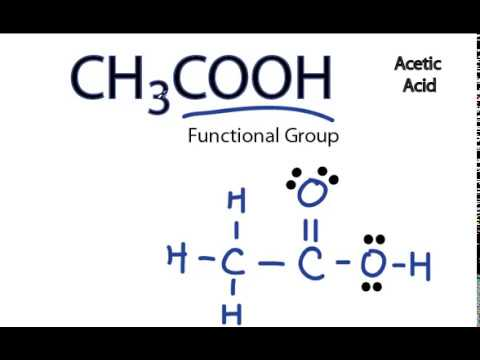 Ch3cooh Lewis Structure Youtube