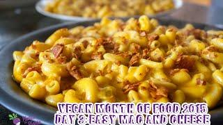 Vegan Mofo 2015 Day 3: Quick And Easy Mac