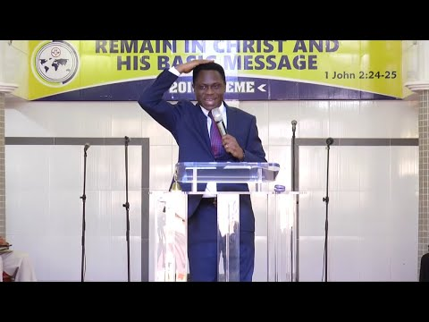 SERMON BY APS  ERIC NYAMEKYE  SPEAKING ON THE TOPIC: THE LORD BLESS YOU; AND KEEP YOU PART 2