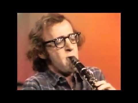 Woody Allen playing clarinet
