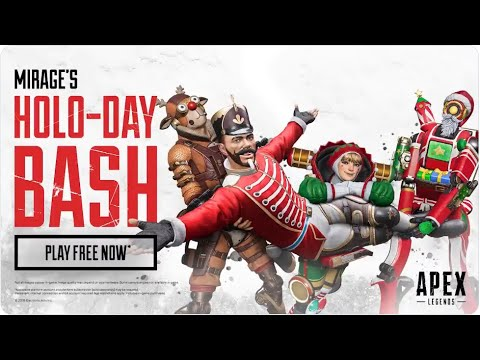 apex-legends---mirage's-holo-day-event-packs!-(do-i-get-what-i-want?)(pathfinders-heirloom-&-skins)