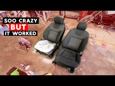 Two Cleaning Hacks How To Remove Stubborn Car Seat Stains
