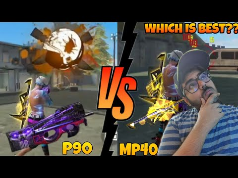 p90-vs-mp40-which-is-best-|-new-wepon-royal-|-the-punisher-p90
