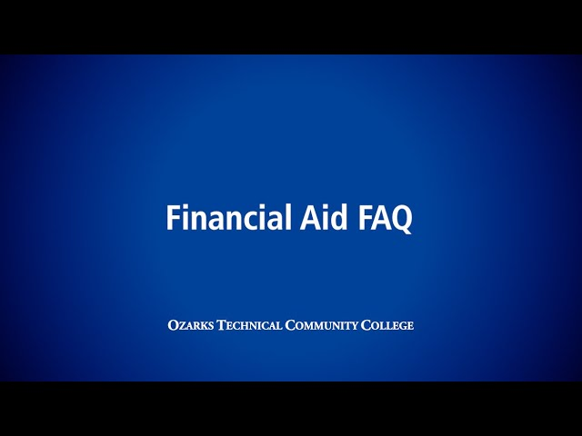 OTC Financial Aid FAQ