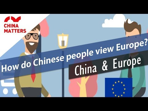 How does China see Britain, France and Germany?