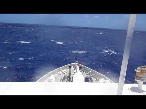 Rough Seas Atlantic Ocean Heavy Weather