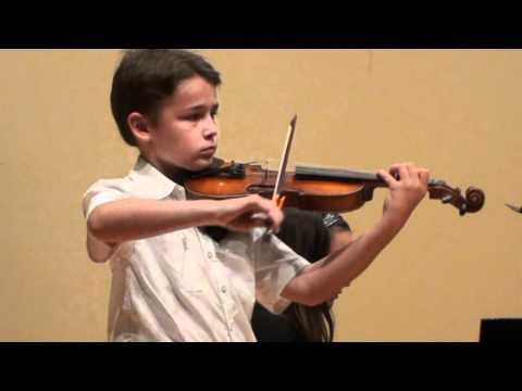 Blake Perryman - Violin - Allegro Assai by Kuchler
