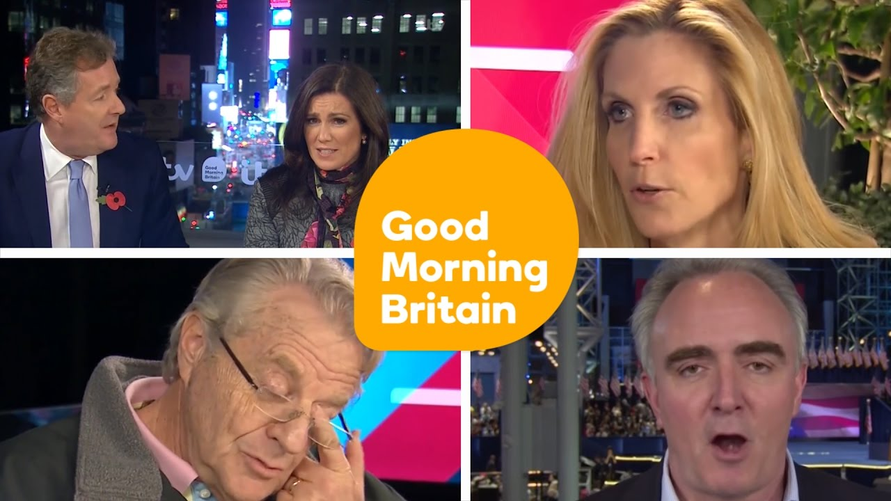 Us Election Night Compilation Good Morning Britain