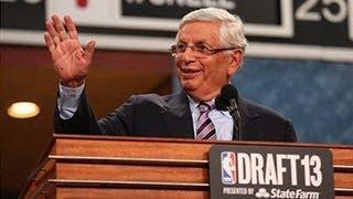 David Stern's last draft pick announcement of his career!