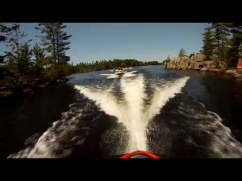 Seadootours.com Sea-Doo Tour of Kawartha Lakes, Ontario Canada HD