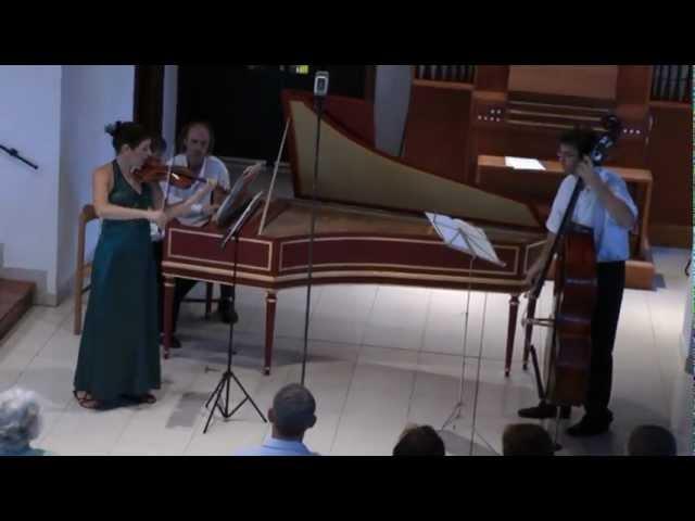 Bach Sonata No.6 in G major BWV 119 / Márta Ábrahám violin
