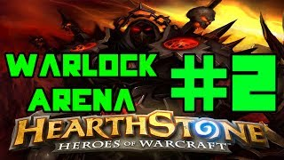 Hearthstone Arena: Warlock Revisit - Almost missing Lethal