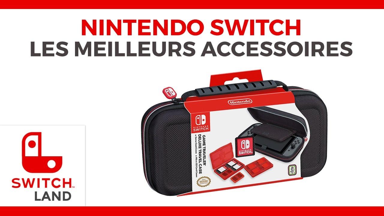 Les meilleurs accessoires de la nintendo switch youtube for Housse nintendo switch mario