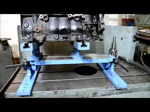 Оборудование для расточки блоков цилиндров