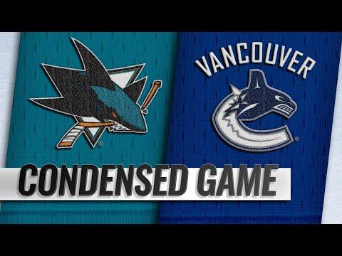 04/02/19 Condensed Game: Sharks @ Canucks