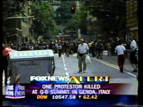 Genoa Summit clash, July 21–22, 2001