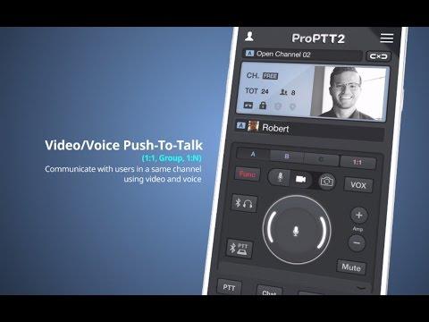 ProPTT2 Video Push-To-Talk - Apps on Google Play