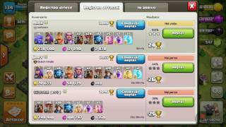 Clash of Clans attacco Lavaloon 3 stelle th 11