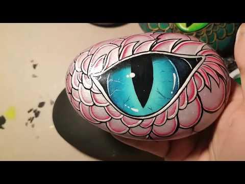 Rachel's Rocks Dragon eye tutorial