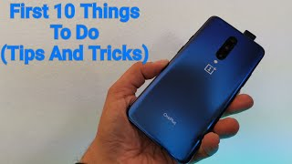 OnePlus 7 Pro First 10 Things To Do (OnePlus 7 Pro /Op7 Tips And Tricks)