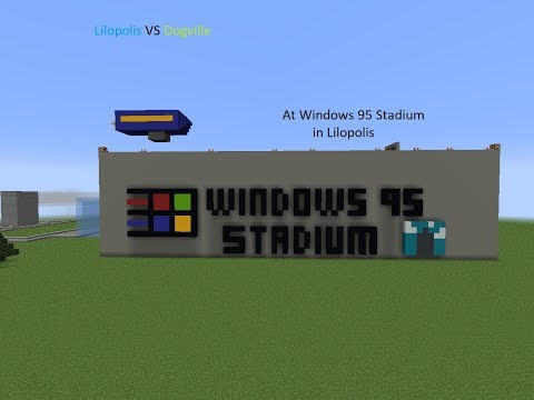 Lilopolis Blues Vs Dogville Greens From Windows 95 Stadium
