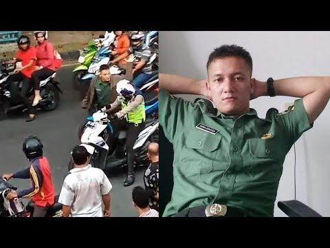 Video Oknum TNI Marah-marah dan Pukul Anggota Polantas di Pekanbaru