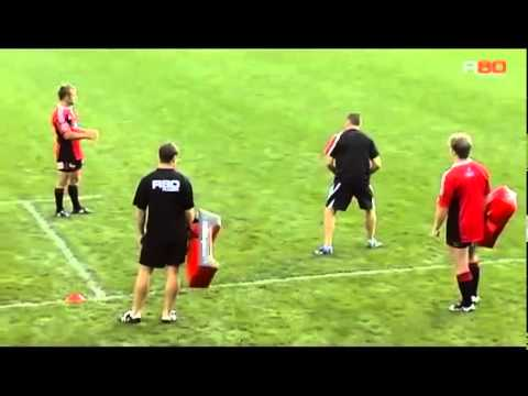 R80 Rugby Coaching  Halfback Taxi Drills