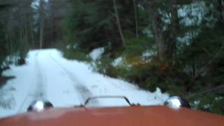 Tucker 542A Sno-Cat 1st trip .MP4