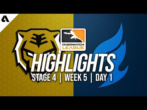 Seoul Dynasty vs Dallas Fuel | Overwatch League Highlights OWL Stage 4 Week 5 Day 1