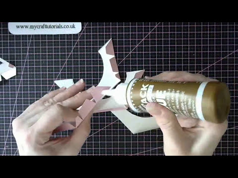 How to Make an Eiffel Tower  - With Gift Box Inside
