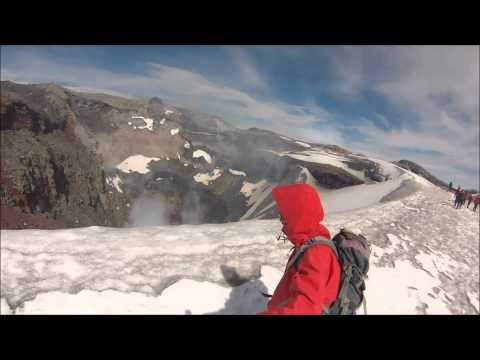 Climbing Mount Villarrica - Pucon, Chile