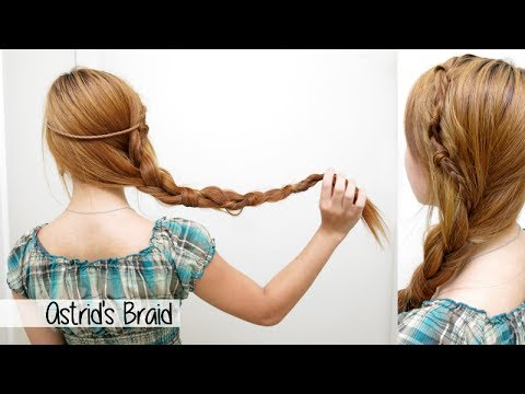 Astrid's Side Braid from How to Train Your Dragon 2 l Cute ...